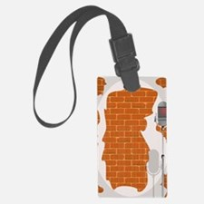 Comedian microphone Luggage Tag