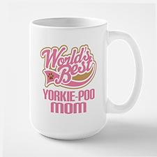 Yorkie-poo Dog Mo Mugs