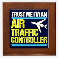 Air Traffic Controller Framed Tile