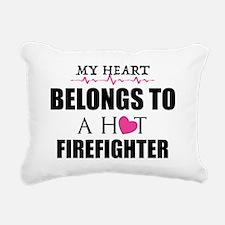 MY HEART BELONGS TO A HOT FIREFIGHTER Rectangular