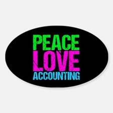 Cute Accountant Decal