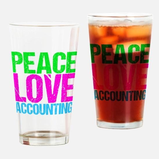 Cute Accountant Drinking Glass
