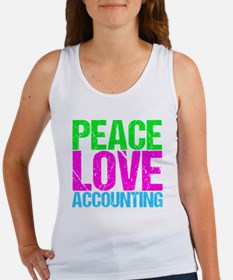 Cute Accountant Women's Tank Top