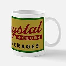 Crystal Club logo 10 Mugs