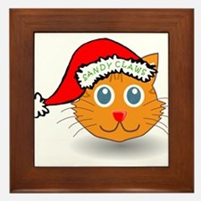 Sandy Claws Framed Tile