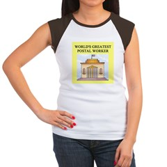 postal worker gifts t-shirts Women's Cap Sleeve T-