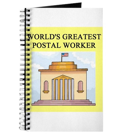 postal worker gifts t-shirts Journal