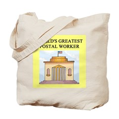 postal worker gifts t-shirts Tote Bag