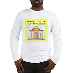 postal worker gifts t-shirts Long Sleeve T-Shirt