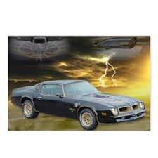 Trans Am Art 3 Postcards (Package of 8)