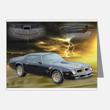 Trans Am Art 3 Note Cards (Pk of 20)