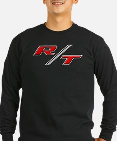 r-t-embossed-red-correct Long Sleeve T-Shirt
