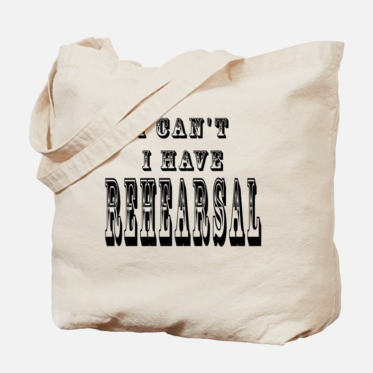 Cute Vintage musical theater Tote Bag