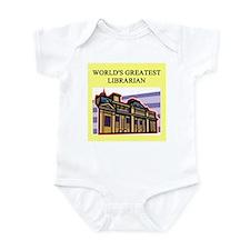 librarian gifta t-shirts Infant Bodysuit