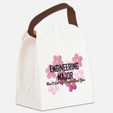 Engineer's Flower Power Canvas Lunch Bag