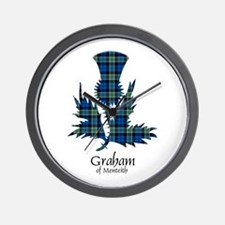 Thistle - Graham of Menteith Wall Clock
