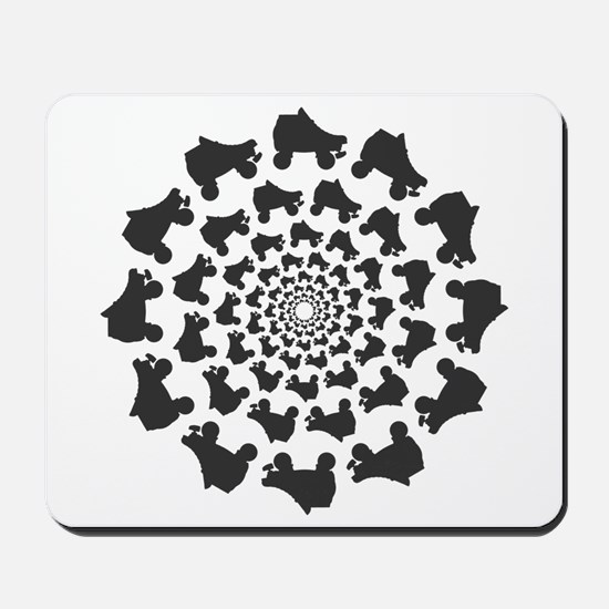 circle skates Mousepad