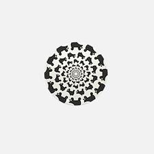 circle skates Mini Button