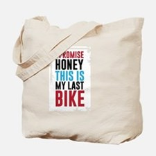 Funny Biker honey Tote Bag