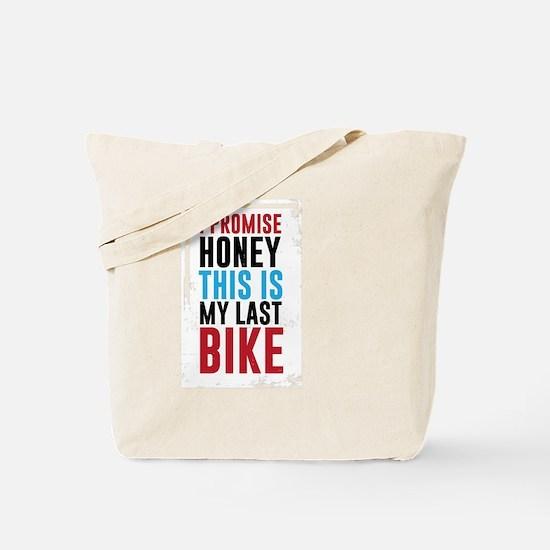 Funny Biker honey Tote Bag