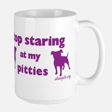 Stop Staring - Purple Mugs