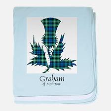 Thistle - Graham of Montrose baby blanket