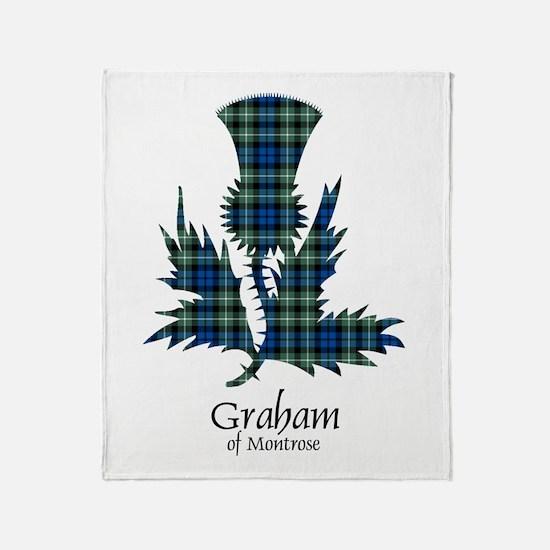 Thistle - Graham of Montrose Throw Blanket