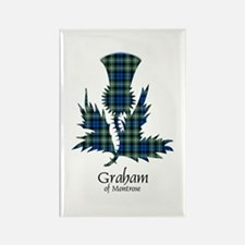 Thistle - Graham of Montrose Rectangle Magnet