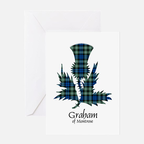 Thistle - Graham of Montrose Greeting Card