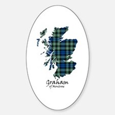 Map - Graham of Montrose Sticker (Oval)