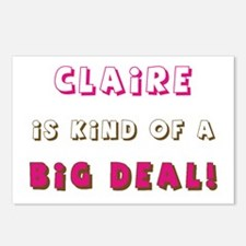 Claire Is Kind of a Big Deal Postcards (Package of