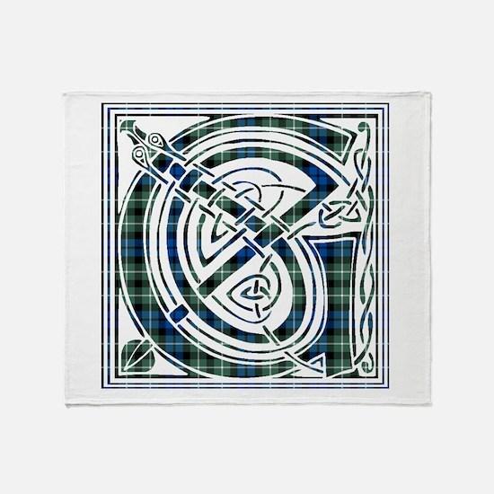 Monogram - Graham of Montrose Throw Blanket