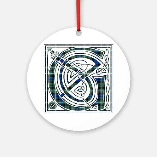 Monogram - Graham of Montrose Ornament (Round)