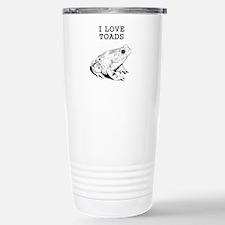 I Love Toads Stainless Steel Travel Mug