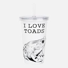 I Love Toads Acrylic Double-wall Tumbler
