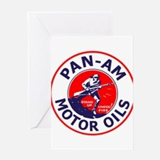 Pan Am Motor Oil 1 Greeting Cards