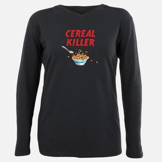 Unique Cereals Plus Size Long Sleeve Tee