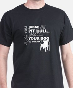 Before you judge (white) T-Shirt