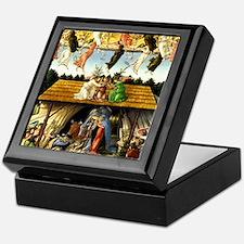 Cute Nativity Keepsake Box