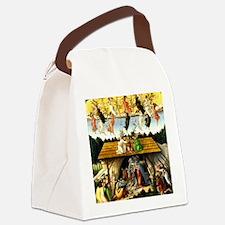 Unique Nativity Canvas Lunch Bag