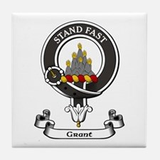 Badge - Grant Tile Coaster