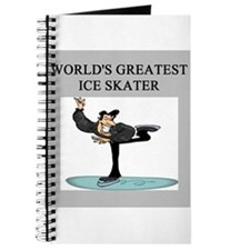 ice skating gifts t-shirts Journal