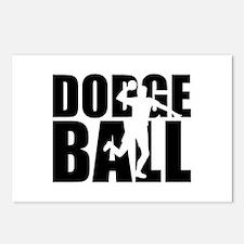 Dodgeball Postcards (Package of 8)