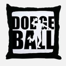 Dodgeball Throw Pillow