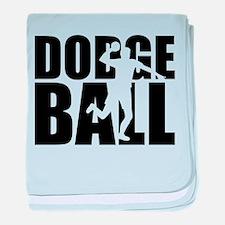 Dodgeball baby blanket