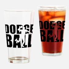 Dodgeball Drinking Glass