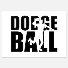 Dodgeball Invitations