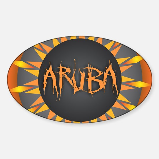 Aruba Hot Sun Decal