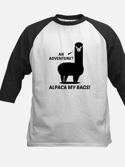 Alpaca My Bags Baseball Jersey
