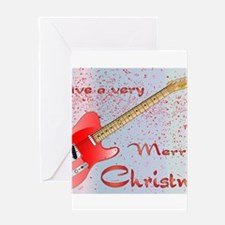 Rocking Christmas Greeting Cards